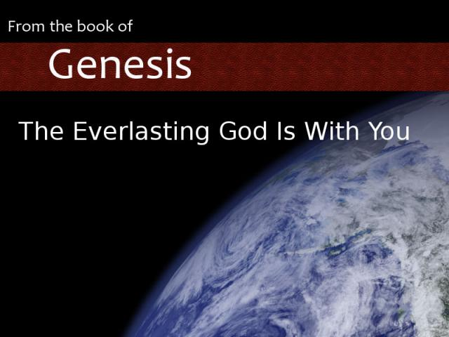 The Everlasting God is With You graphic